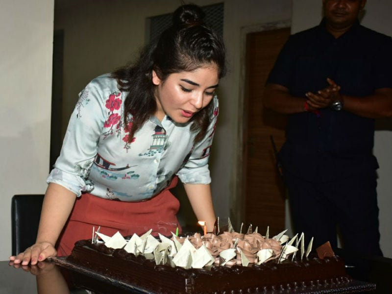 Inside The Secret Superstar's Birthday Bash