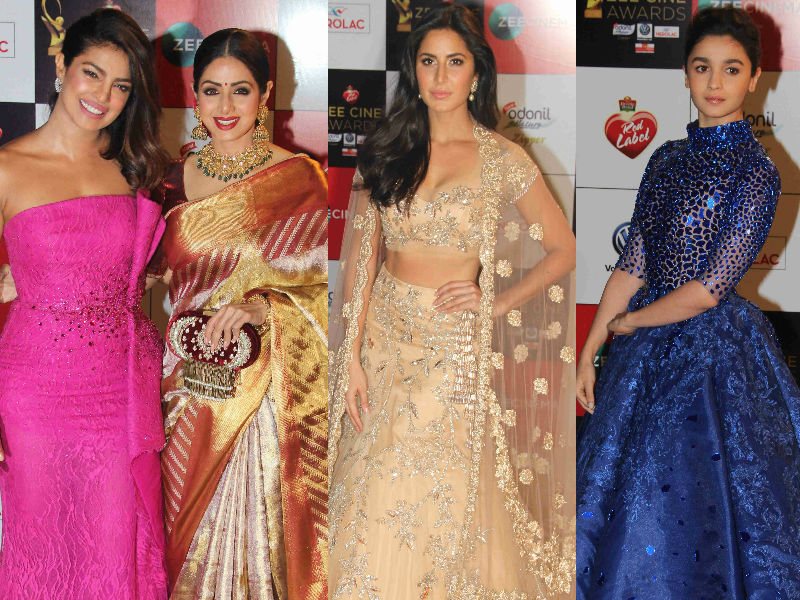 Stop Everything And Look At These Pics Of Priyanka, Sridevi, Katrina, Alia