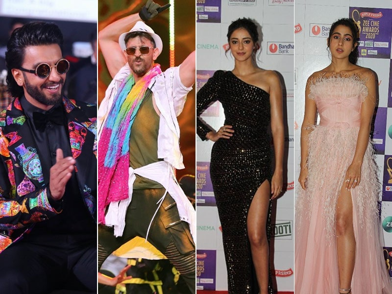 Inside Zee Cine Awards With Ranveer, Hrithik, Sara And Ananya