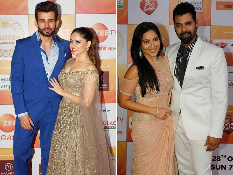 Mahhi Vij-Jay Bhanushali, Kanchi Kaul-Shabbir Ahluwalia Rule The Red Carpet At Zee Rishtey Awards