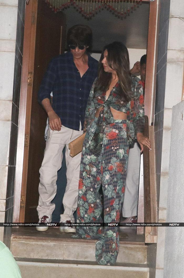 Christmas Fever With Shah Rukh, Gauri, Shweta, Alia, Ranbir