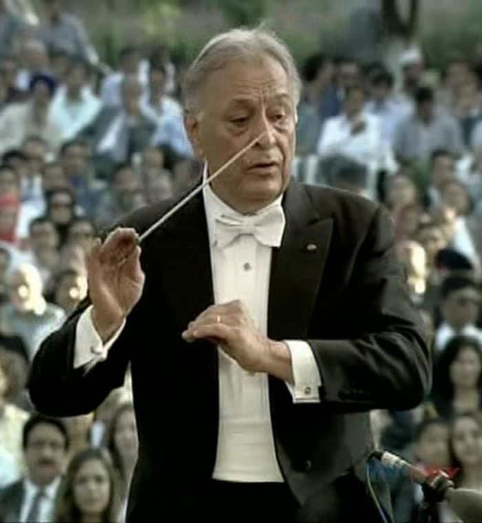 Music maestro Zubin Mehta performs in Kashmir