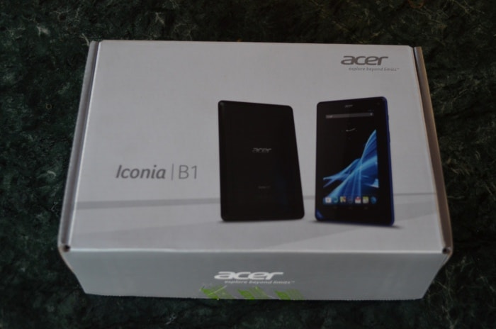 Acer Iconia B1-A71: First look
