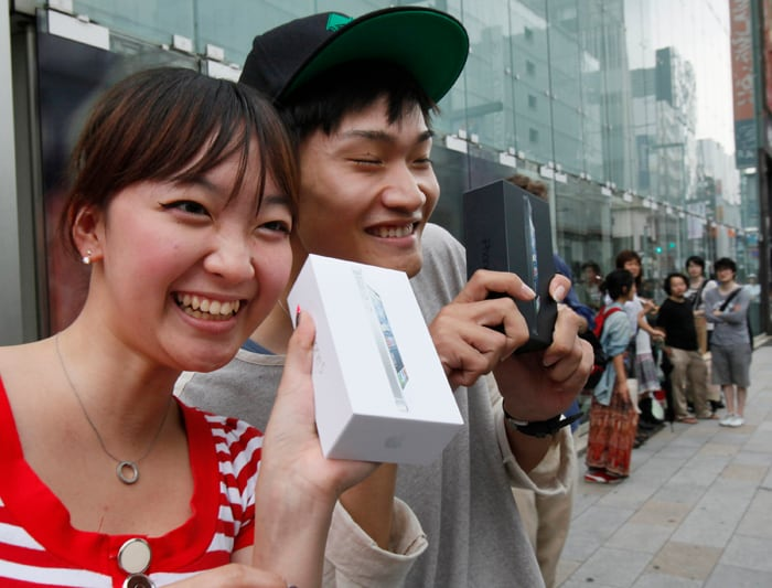 Apple iPhone 5 launch in pictures
