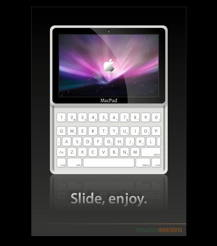 Apple tablet concepts