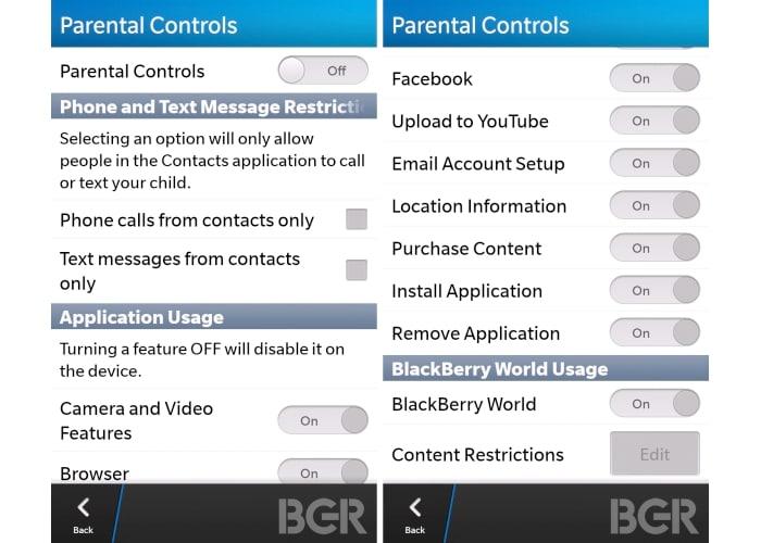 BB10 leaked screenshots
