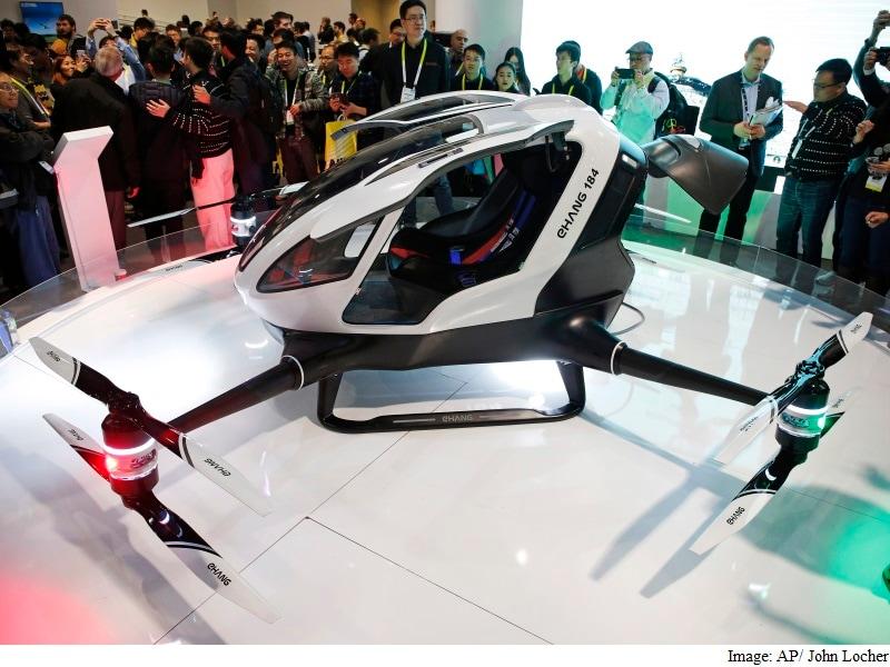 Ehang 184 Human-Carrying Drone