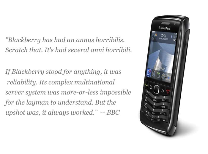 10 Things That Went Wrong For BlackBerry
