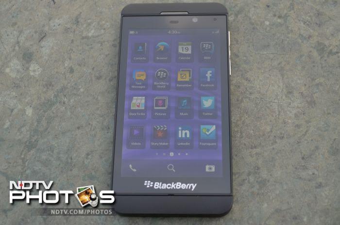 BlackBerry Z10: In pictures