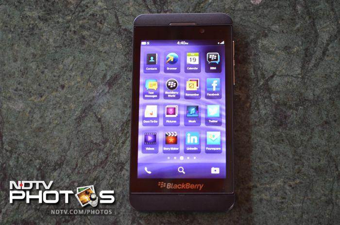BlackBerry Z10: In pictures