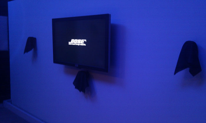 Bose Diversifies: Enters the TV business with its all new Bose Video Wave.