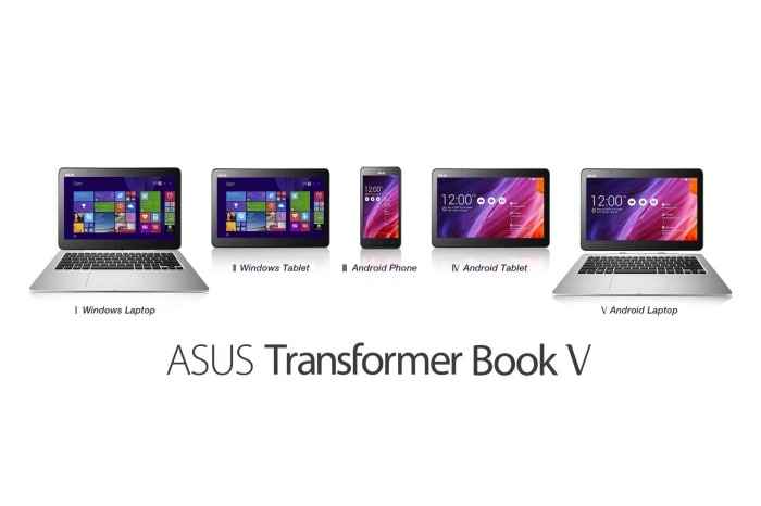 Computex 2014: The Asus Transformer Book V 5-in-1 Hybrid