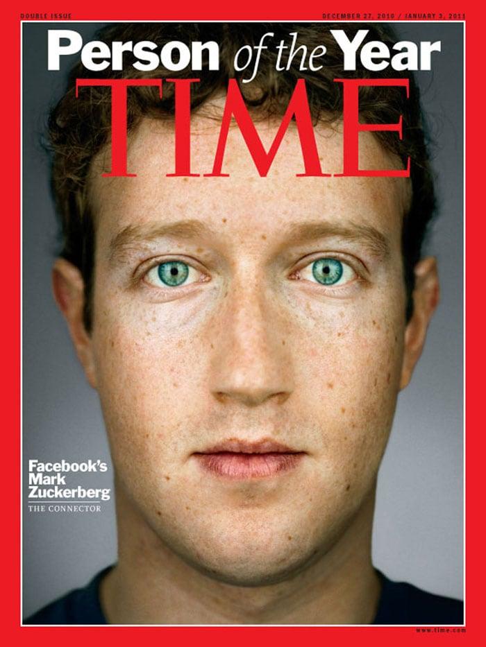 TIME magazine's Person of the Year : Mark Zuckerberg