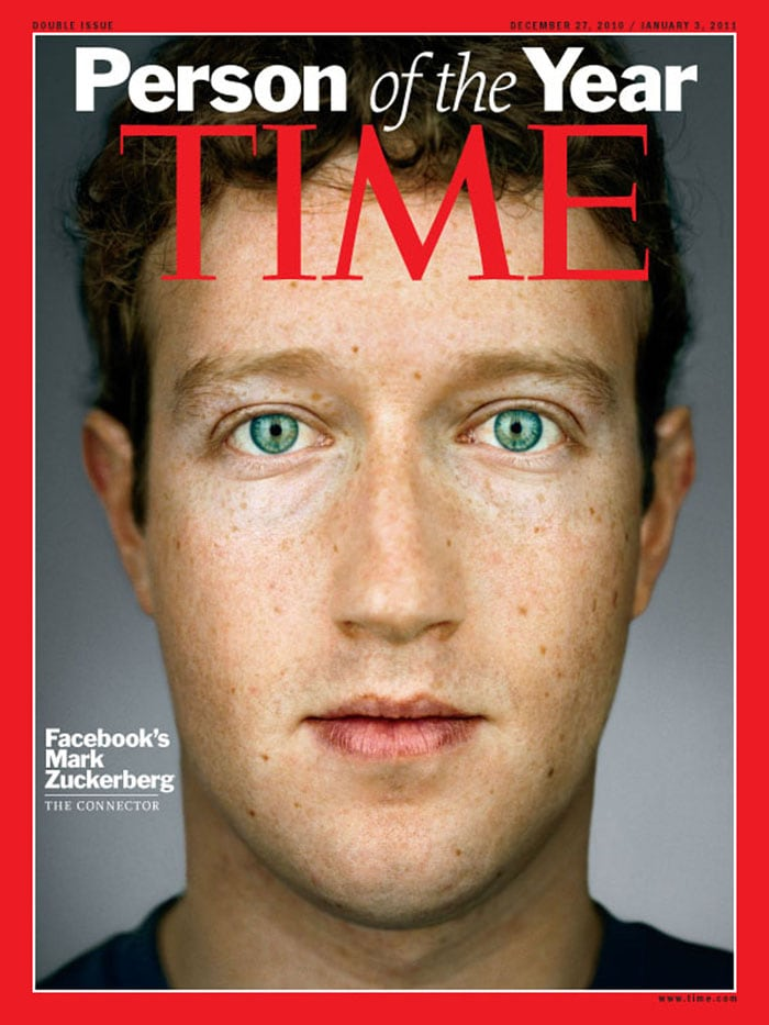 TIME magazine's Person of the Year : Mark Zuckerberg