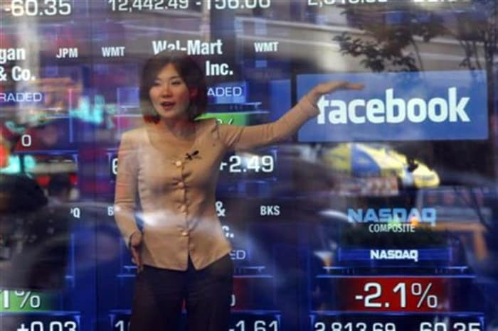 Is that when trading of Facebook begins?