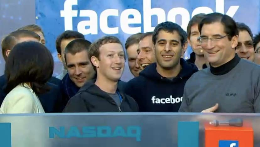 Facebook IPO in pictures