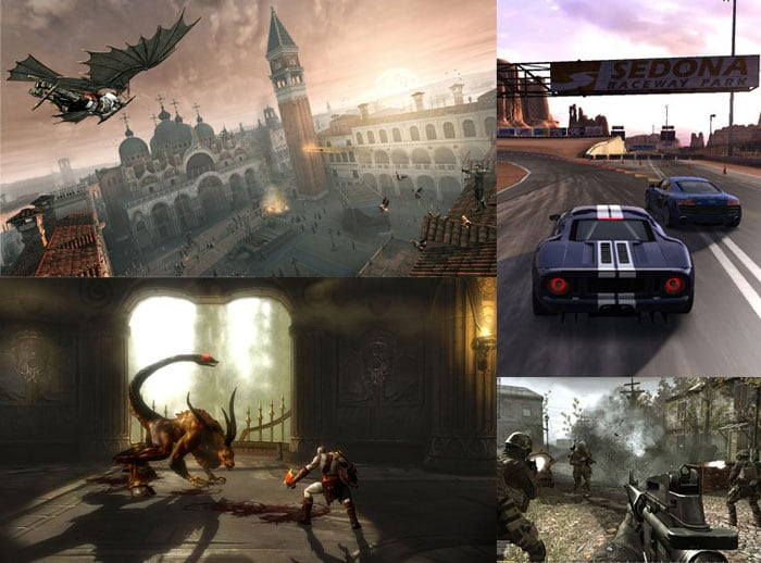 20 Hottest Console Games