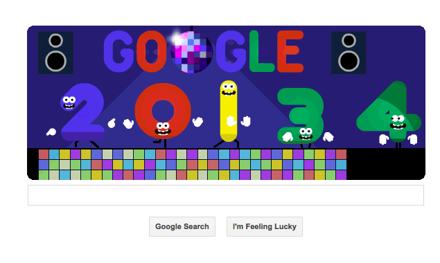 Google doodles of 2013