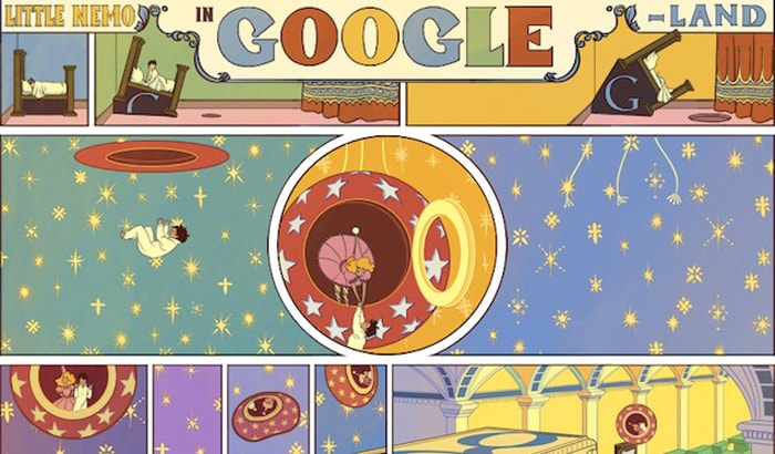 Top 10 Google doodles of 2012