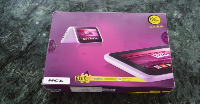 HCL ME Y2 tablet hands on