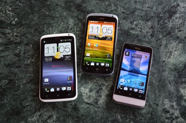 HTC One V in pictures