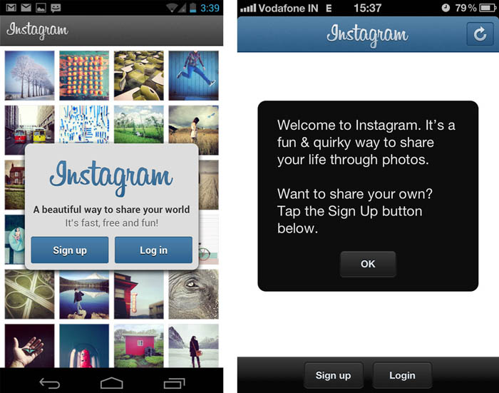 Instagram debuts on Android