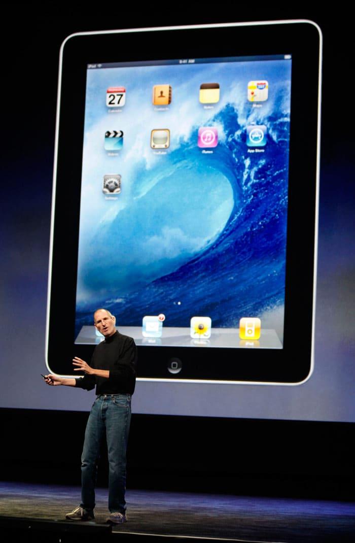 Apple's latest creation the iPad