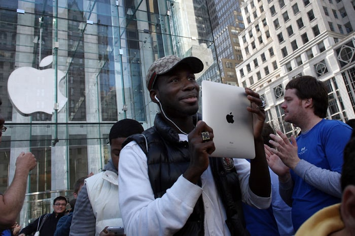 The first iPad owners