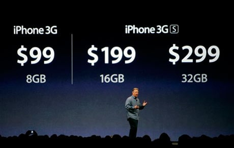 The new iPhone 3G S