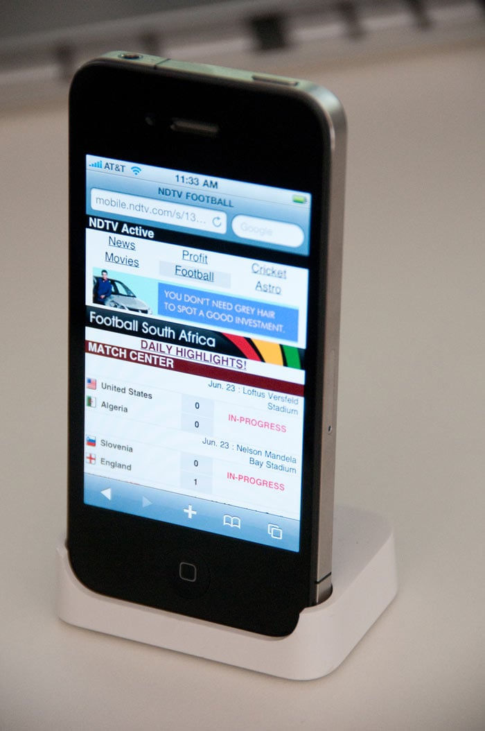 Exclusive: First pics of iPhone 4
