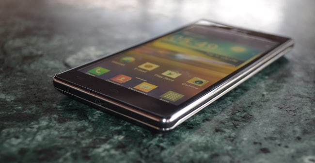 LG Optimus 4X HD: First look