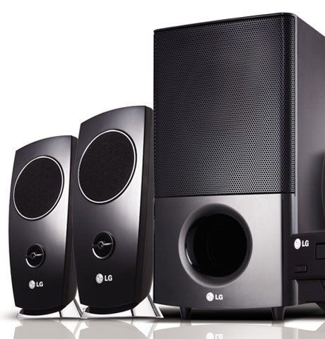 LG HT924 home theatre system