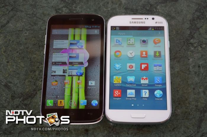 Micromax A116 Canvas HD in pictures