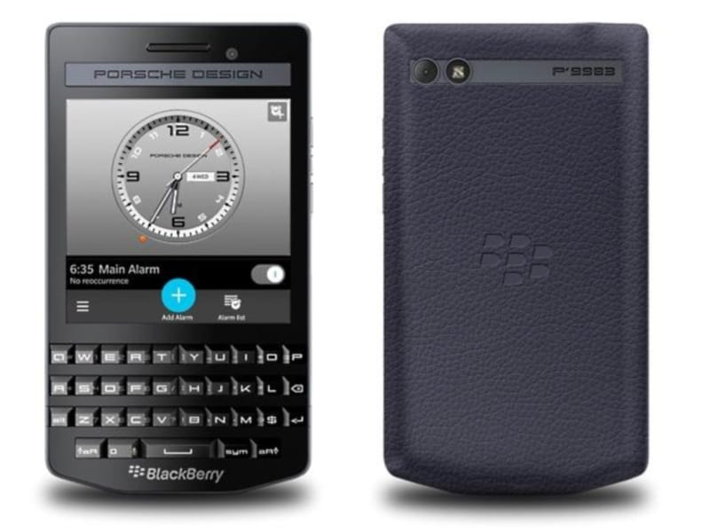 BlackBerry Porsche Design P9983 Graphite