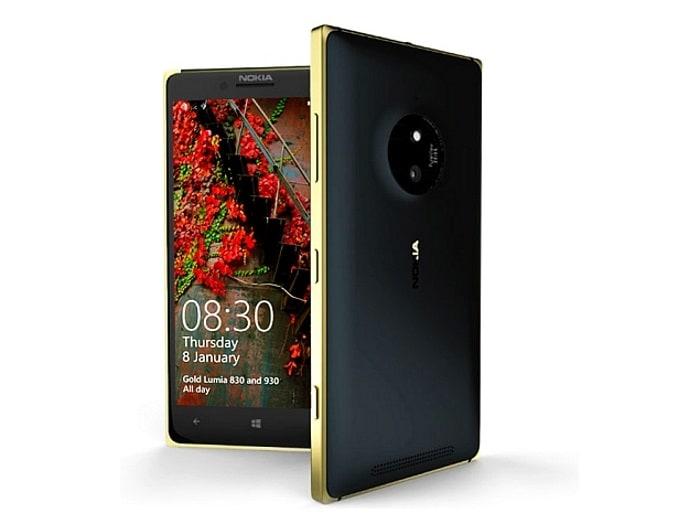 Microsoft Lumia 830 Gold