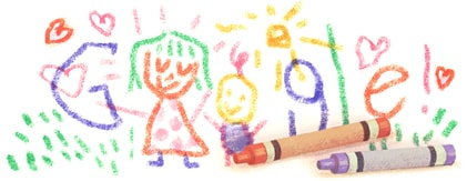 Mother's Day Google doodles over the years