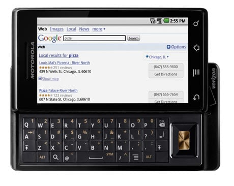 Motorola Droid: The new iPhone killer