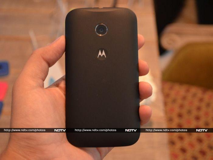 Motorola Moto E: First look