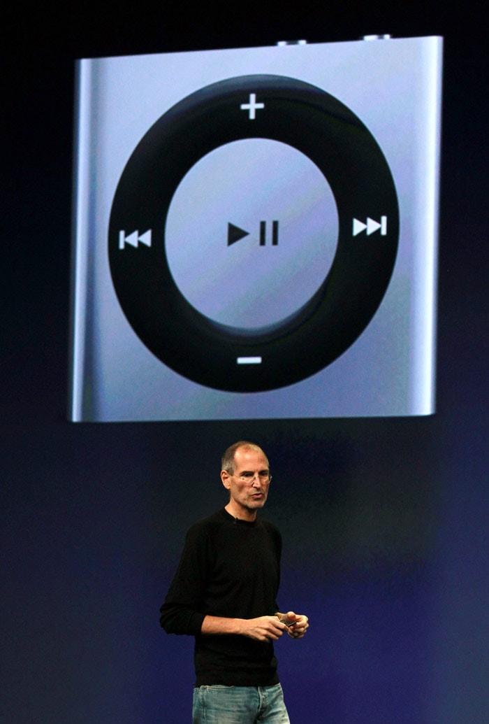 Apple CEO Jobs announces new iPod lineup