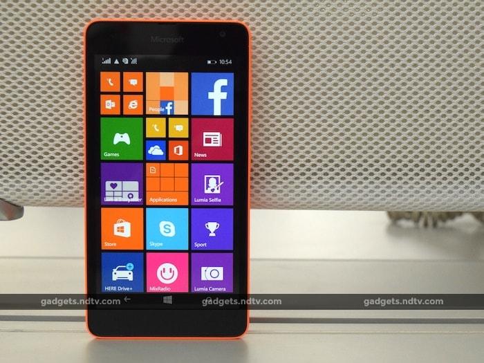 Photo : Microsoft Lumia 535 Dual SIM