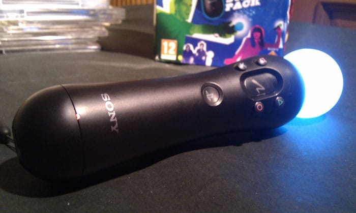 Gadget Guru grooves with the PlayStation Move!