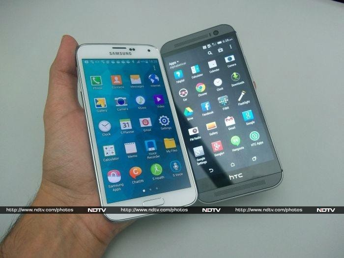 Samsung Galaxy S5 vs. HTC One (M8)
