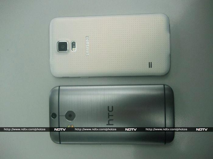Samsung Galaxy S5 vs. HTC One (M8)