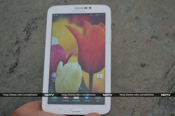 Samsung Galaxy Tab 3 211 review | NDTV Gadgets360 com