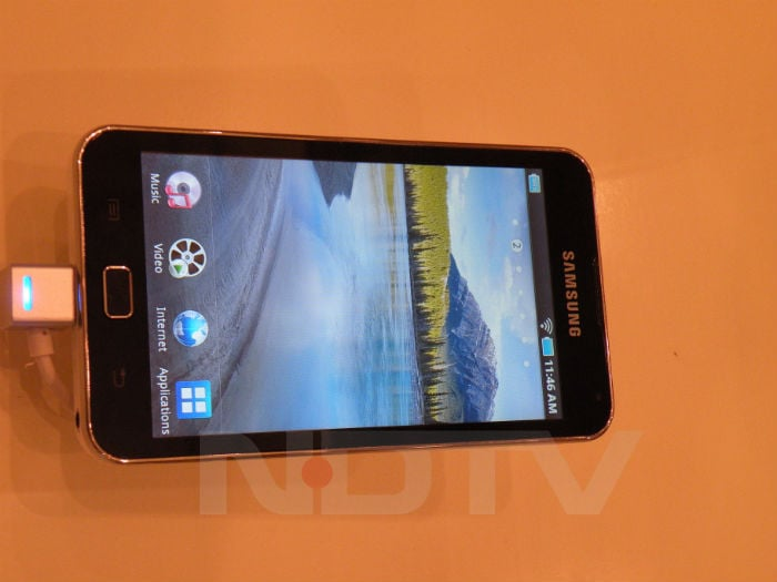 First look at Samsung Galaxy S II and Tab 10.1
