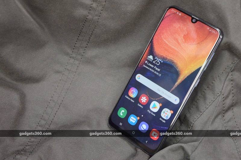 Samsung Galaxy A50 Receiving Software Update With Camera