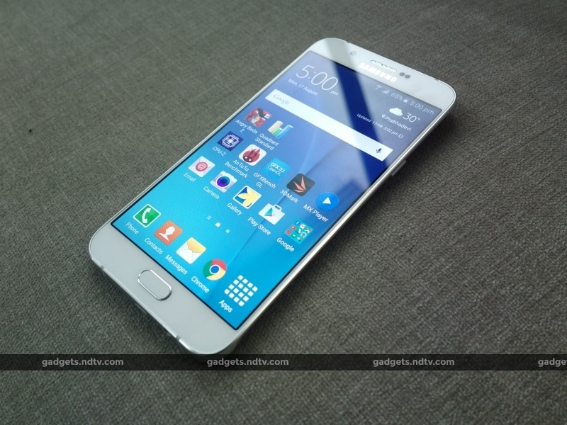 Samsung Galaxy A8 Pictures