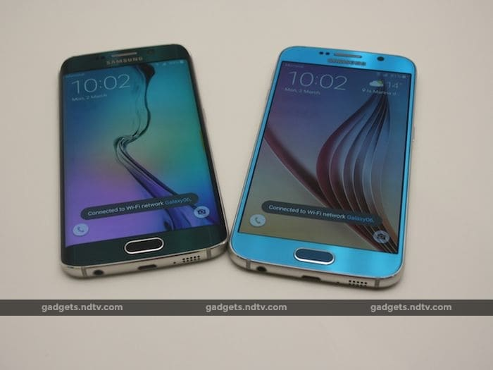 Samsung Galaxy S6 and Galaxy S6 Edge: First Look (pictures ...