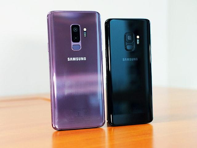 Photo : Samsung Galaxy S9 and Galaxy S9+