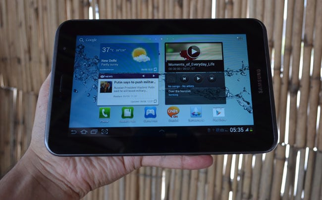 Samsung Galaxy Tab 2 310: First Look